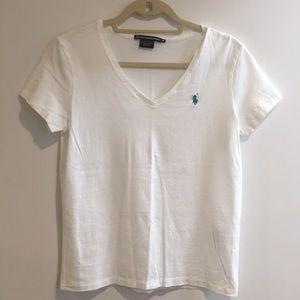 Ralph Lauren sport white t shirt